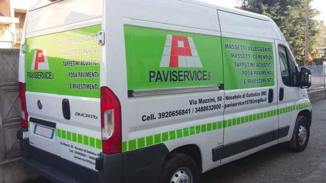 Personalizzazione integrale furgone