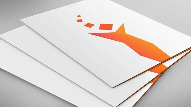 Cartellina folder agenzia