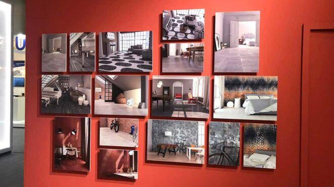 Composizione pannelli fotografici