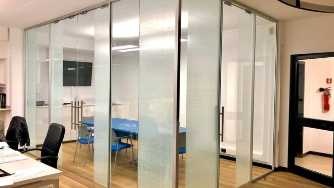 Crystal linen sala riunioni