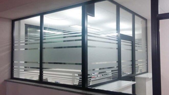 Crystal sabbiato uffici