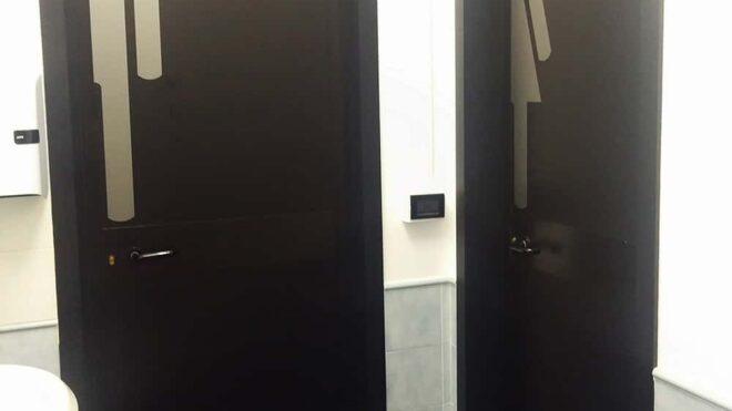 Omini toilette porte